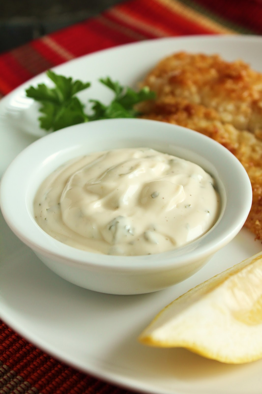 ... Looks: Potato-Crusted Tilapia with No-Pickle Tartar Sauce (Low-FODMAP