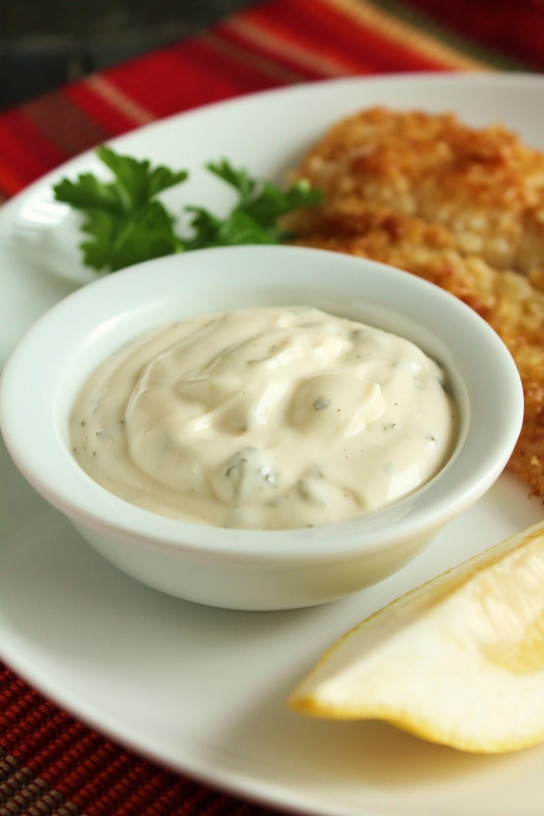 ... Looks: Potato-Crusted Tilapia with No-Pickle Tartar Sauce (Low-FODMAP