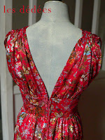 les dedees vintage recup creations robe longue pour le bal de l 39 ambassadeur by ben. Black Bedroom Furniture Sets. Home Design Ideas