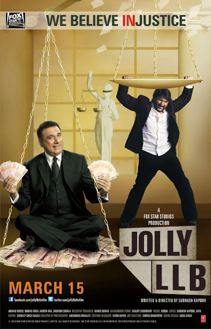 Jolly LLB 2013 poster