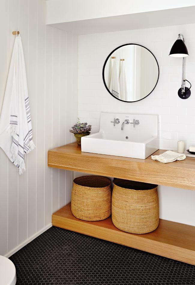 Decorar un baño con estilo natural?