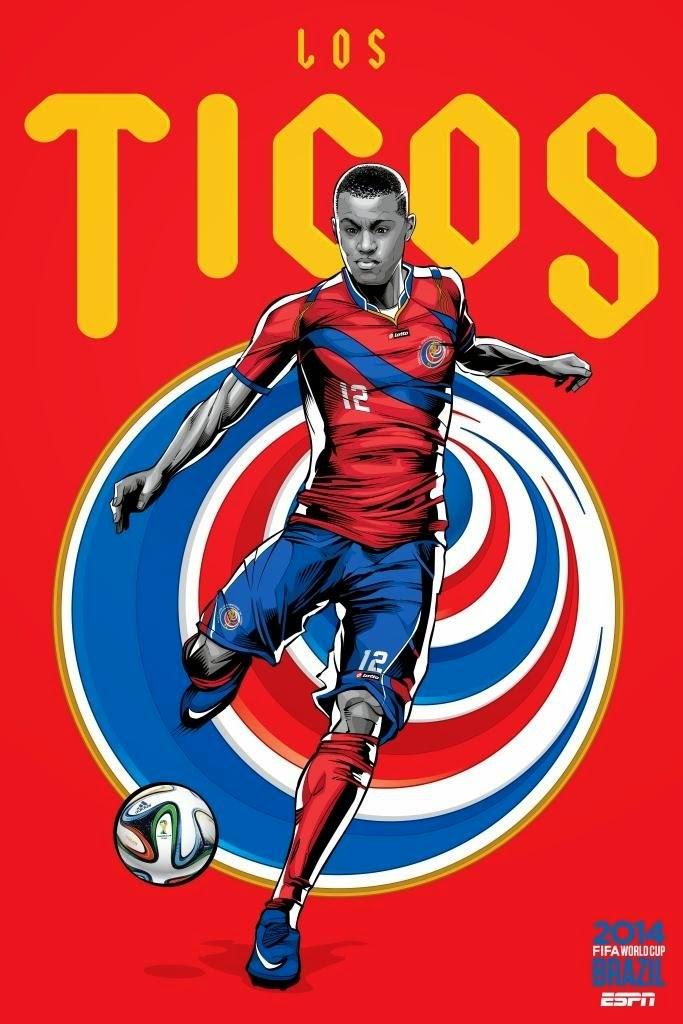 Costa-Rica Team FIFA 2014