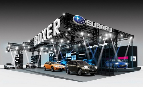 Subaru at 2013 Tokyo Auto Salon