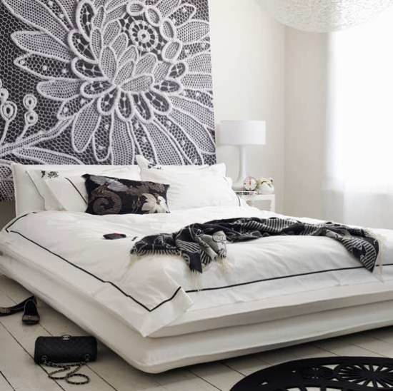 New Home Interior Design: Expressived Modern Bedroom