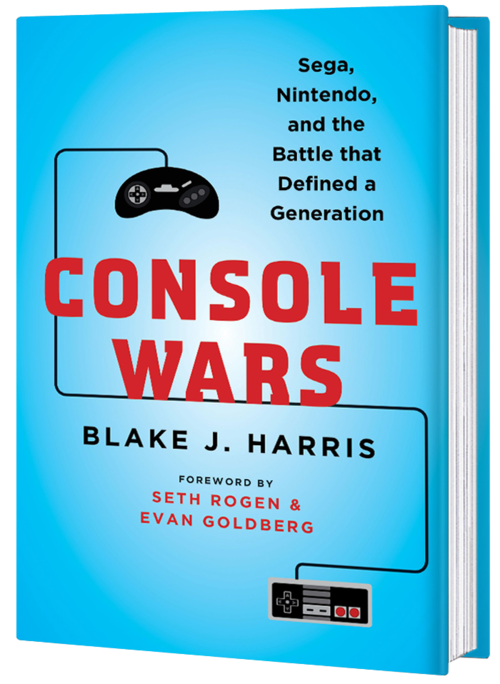 Console Wars by Blake Harris.  Source: http://it-books-yubo.squarespace.com/