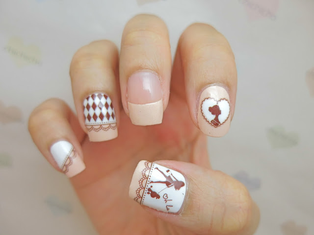 Princess Nail Art Nail Wrap A1028