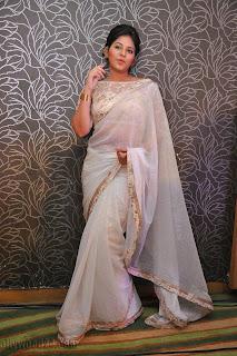 Anjali latest Glamorous pics in saree 043