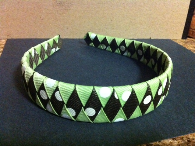 Homemade This And That Woven Headbands