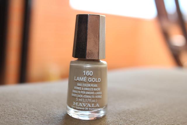 lamé gold mavala