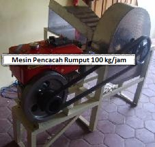 Mesin Chopper (Pencacah / Perajang Rumput)