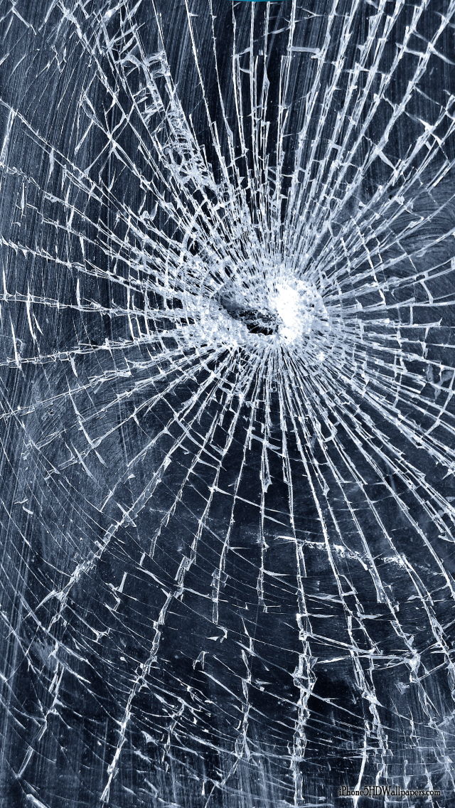 cracked screen wallpaper for - photo #16