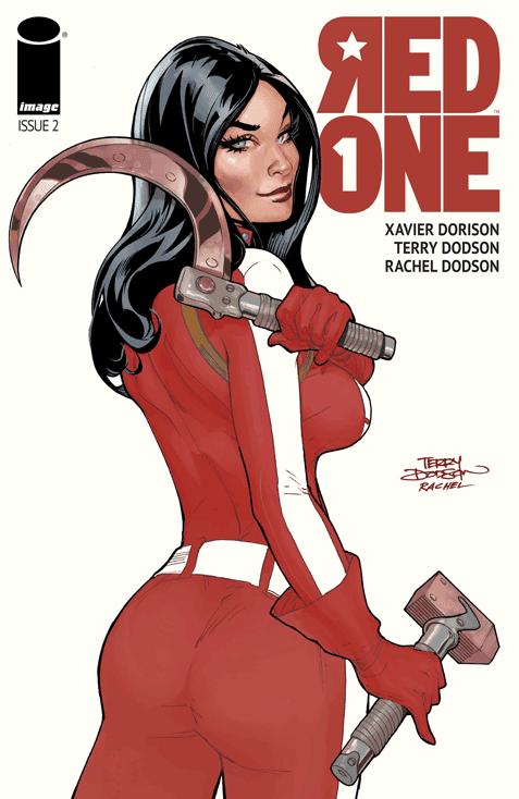 Red One #2 by Xavier Dorison, Terry Dodson, Rachel Dodson, Clayton Cowles