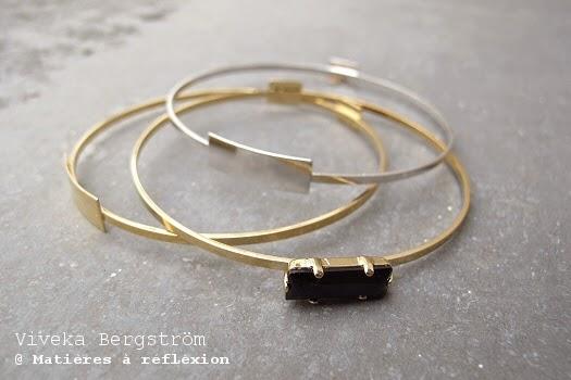 Soldes Viveka Bergstrom bijoux bracelets
