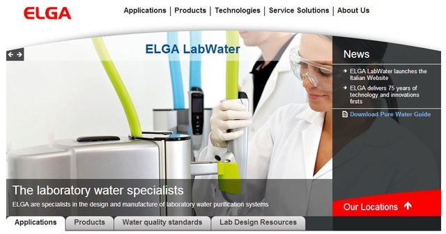 water purification systems at elgalabwater.com