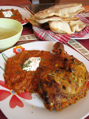 Kurczak tandoori w sosie maślanym