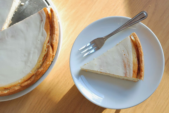 recette NY cheesecake