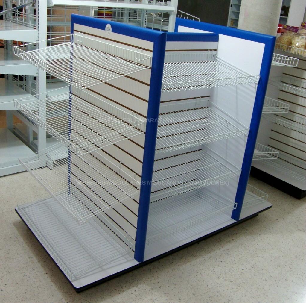 DE TIENDAS TIPO OXXO Estantes de madera y muebles de madera para