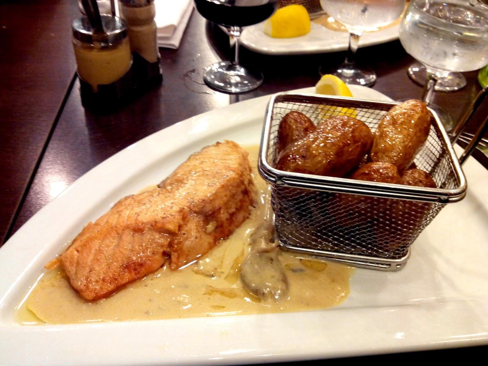 saumon, la taverne royale, restaurant, Nantes, bullelodie