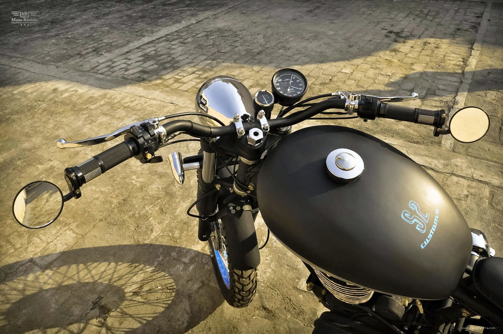 Custom Parts Royal Enfield Pictures