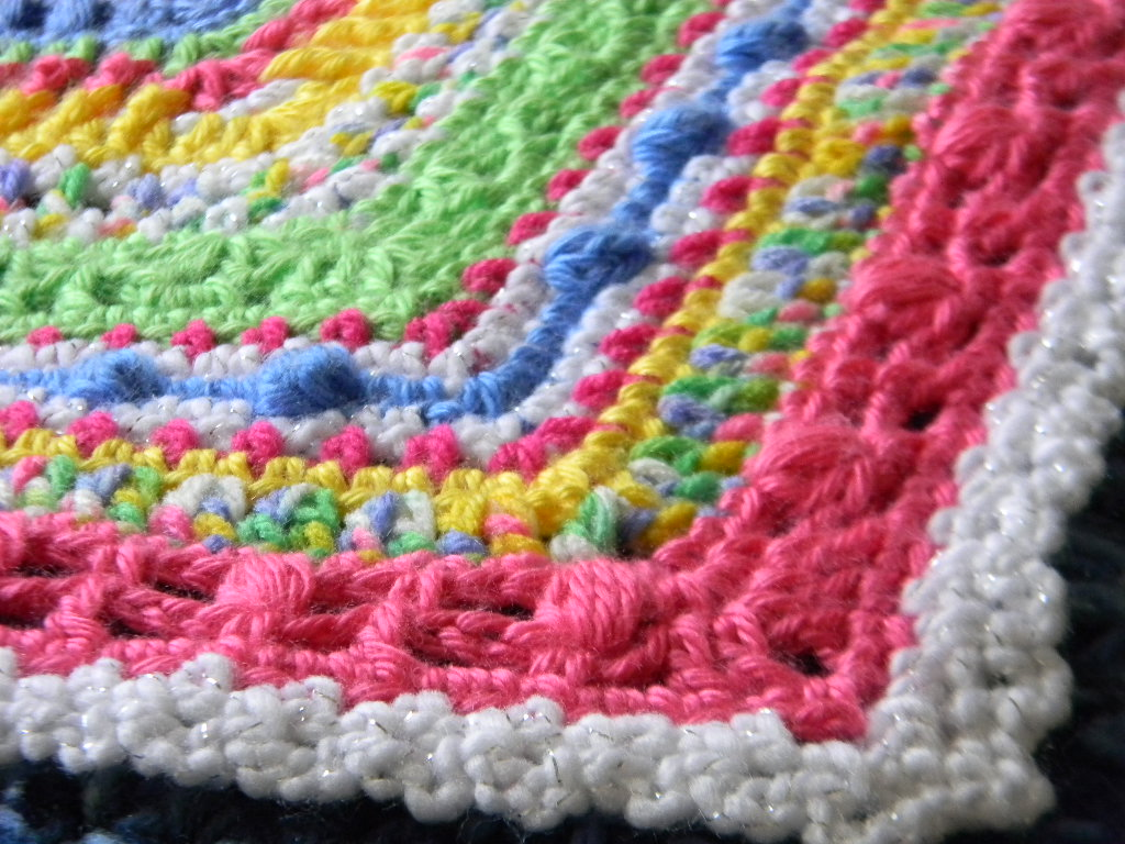 Crochet Stitches Sampler : Bizzy Crochet: Faeries- Sampler Baby Afghan Pattern