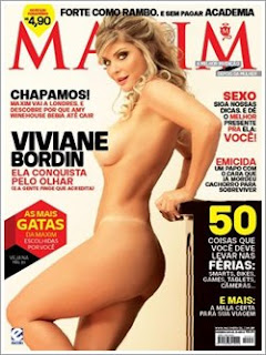lancamentos Download   Viviane Bordin  Revista Maxim Brasil   Dezembro 2011