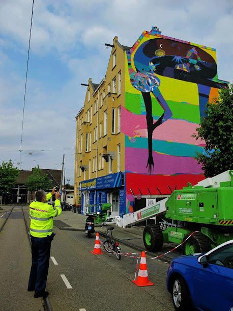 O Policial Curtiu o Grafite