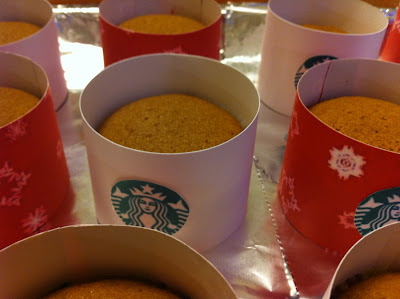 Cooking with jax starbucks theme cupcakes caramel brulee macchiato