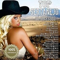 Capa CD Top Sertanejo Só Sucessos Torrent