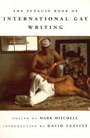 book cover image for The Penguin Book of International Gay Writing