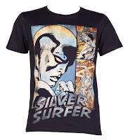 Baju Superhero Silver Surfer