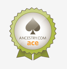 Ancestry.com Aces badge