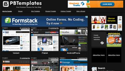 Theme Blogspot Free - Các trang cung cấp Template Blogspot Free