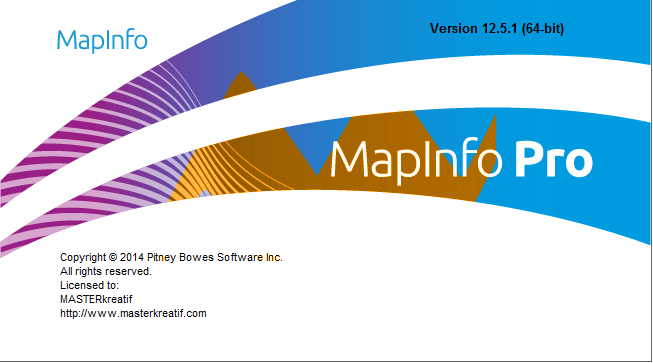 MapInfo Professional v12.5.1