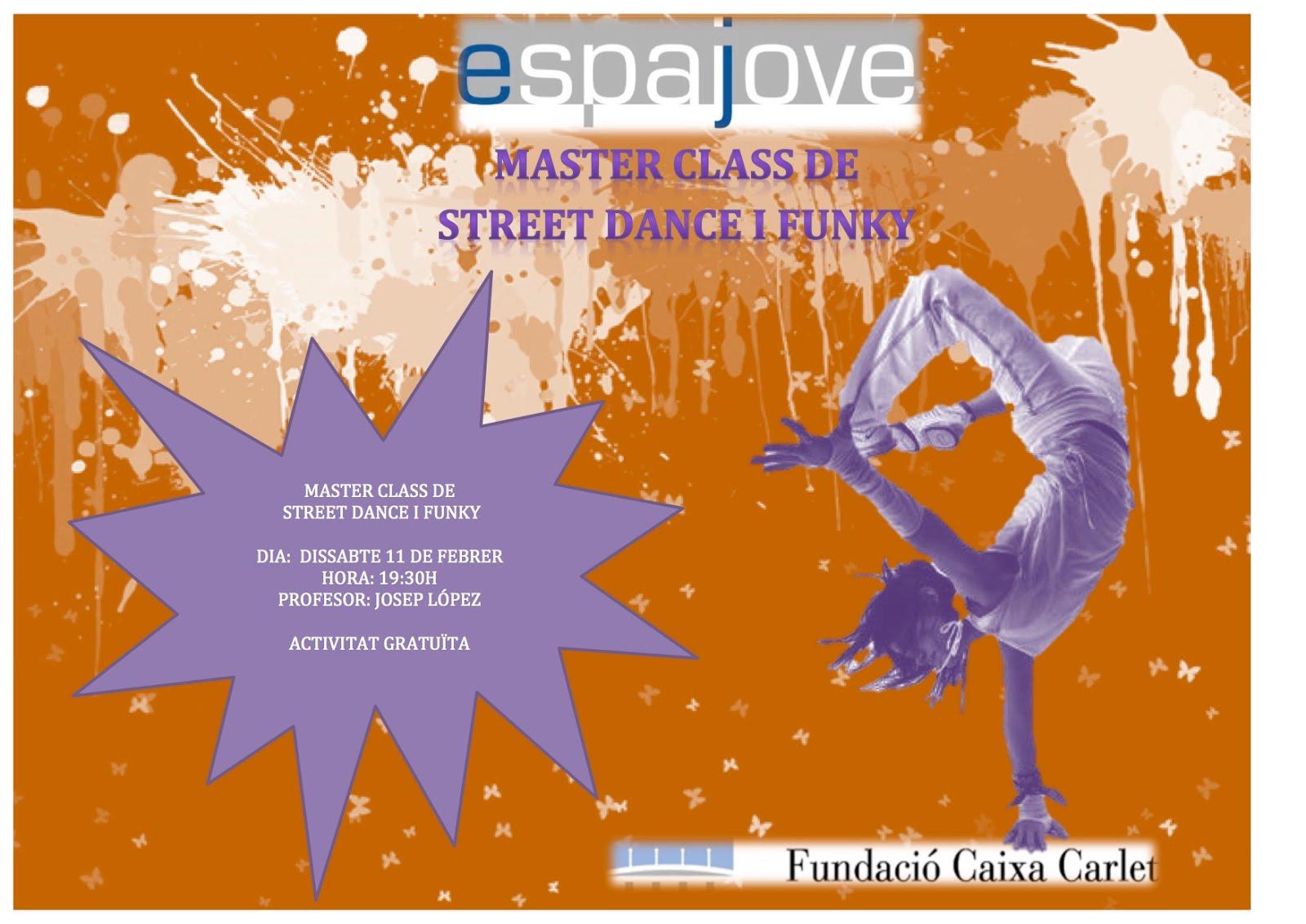 MASTER CLASS DE STREET DANCE I FUNKY
