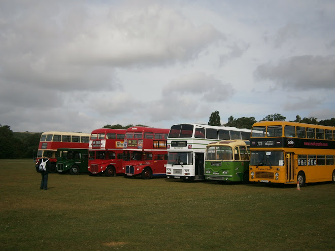 Nice display of buses at Lewes.