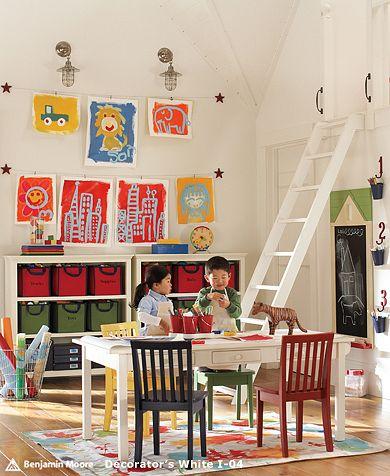 Cuarto de juegos decoraci n y dise os ideas para for Sala fun house