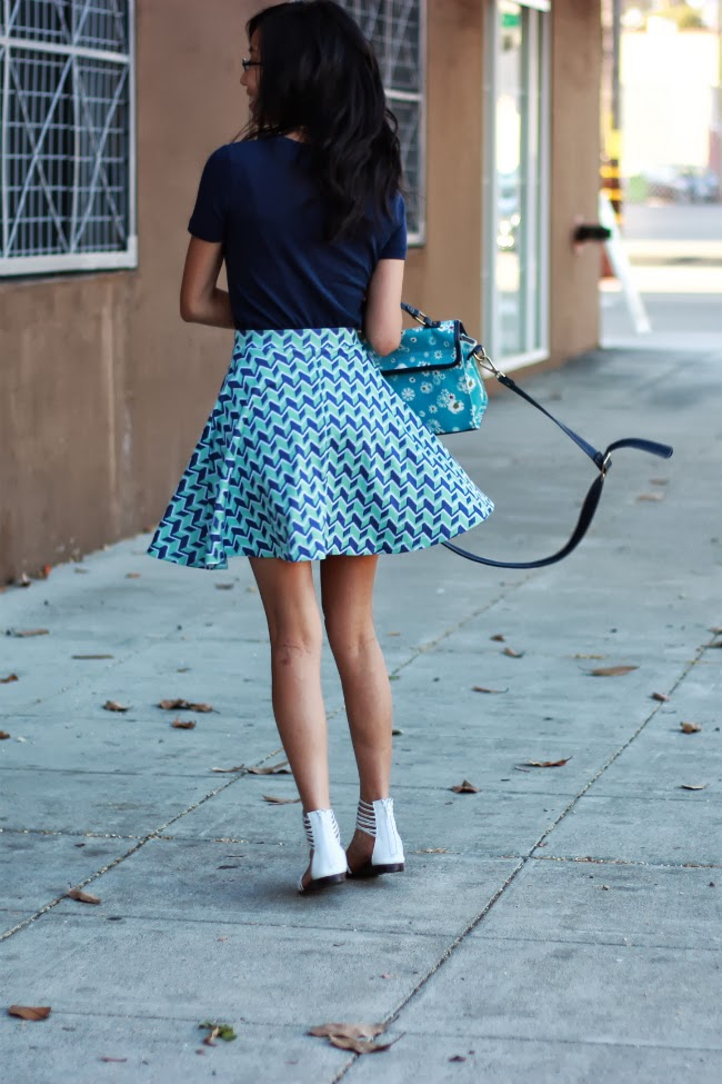 swirling twirl skirt circle skater