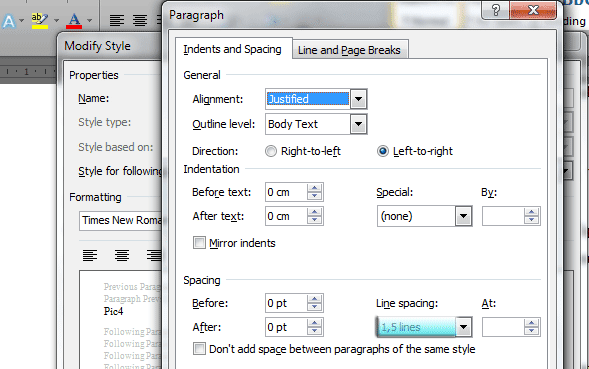 Cara Merubah Pengaturan Default Jenis Ukuran Font Pada Word Dan Menyimpannya