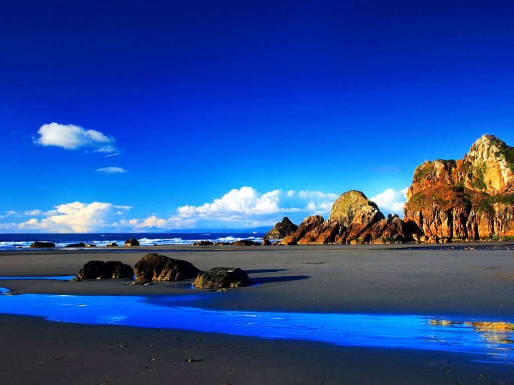 sky blue summer wallpaper