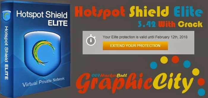 Hotspot Shield Elite 3.42 With Crack - Graphic City