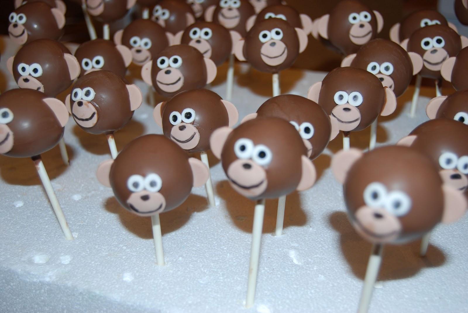 Cake Pop Brownies Brownie Monkey Cake Pops