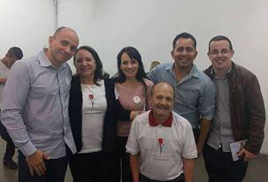 Família Ianzer com Hermeson Ornilo e Renan de Oliveira