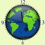 秒針がスムースに動く時計ブログパーツ