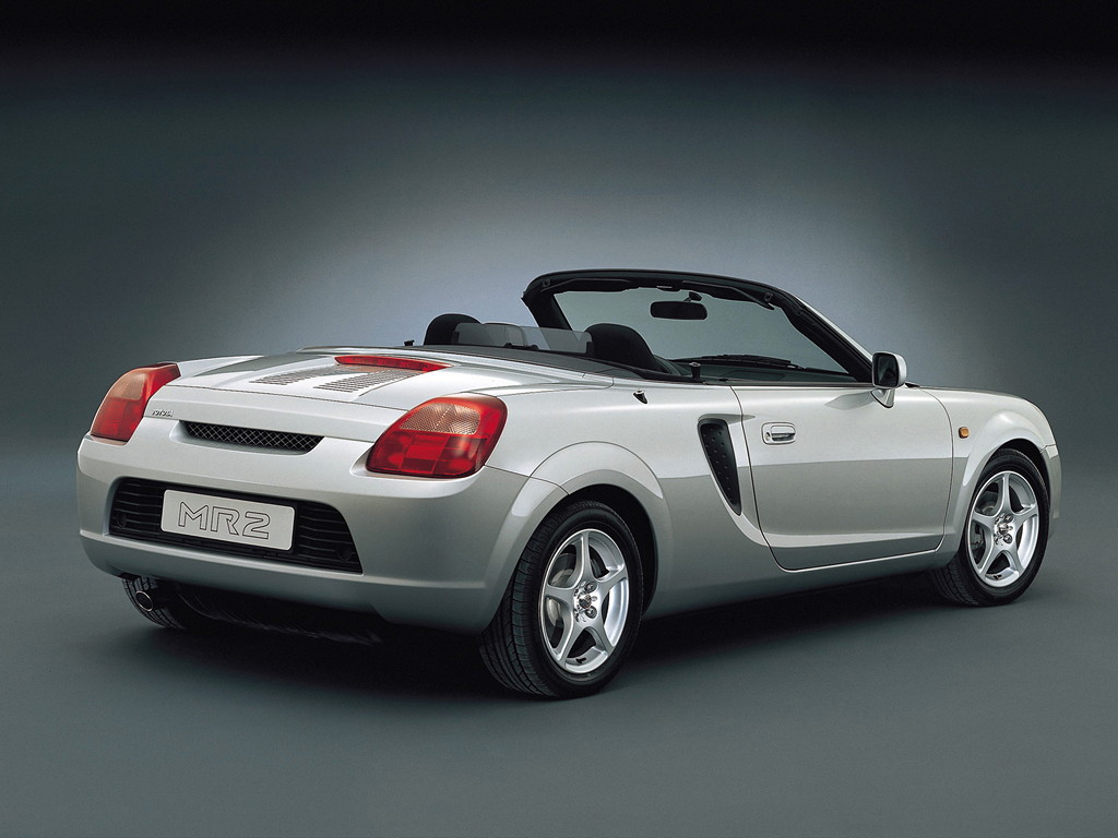 Toyota MR2 Roadster, MK3, przed faceliftingiem, 1999-2002
