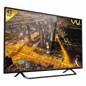 Buy Vu 42D6455 42? Ultra HD Smart LED TV at Rs. 34990 : Buy To Earn