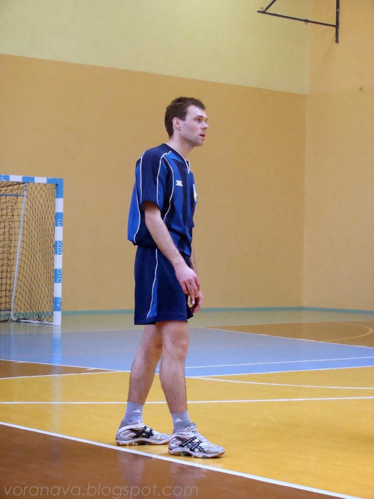 игрок Дятловской команды