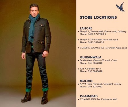 Forestblu New Winter Wear Outfits Collection 2014 For Men And Women