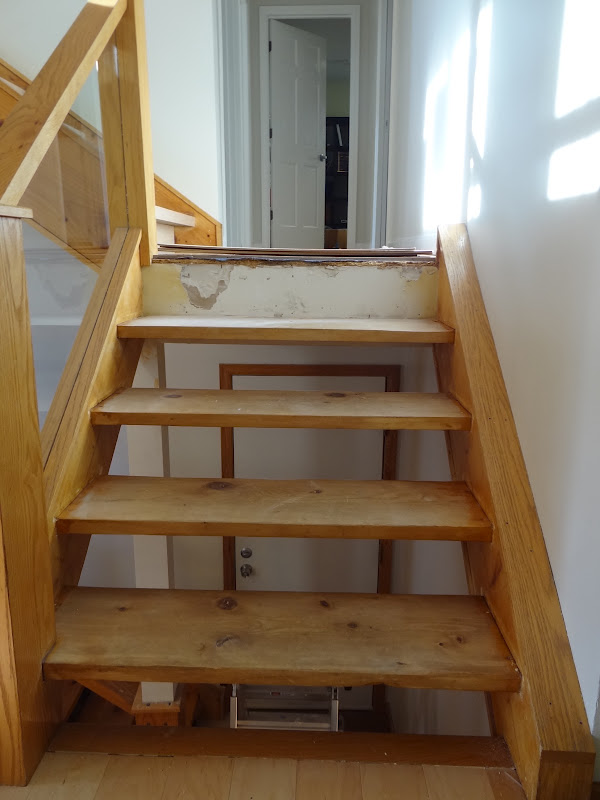 3/4 Inch Plywood With Maple Veneer For The Stair Risers. (I Wanted To Use  Solid Boards For This, But 1 X 10 Maple Boards Were Going To Break The  Bank, ...