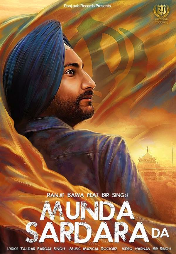 Munda Sardara Da Lyrics,HD Video,Ranjit Bawa