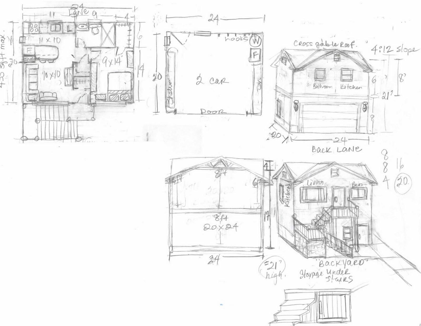 My mind online garage apartment for 24x26 garage plans